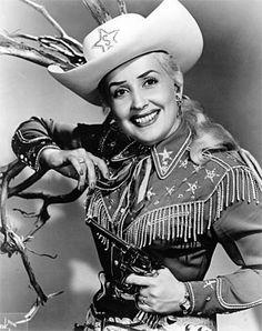 Sally Starr, vintage western wear
