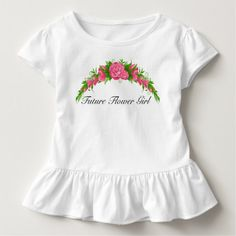 Adorable Future Flower Girl Shirt
