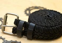 Ceinture en pneu de vélo