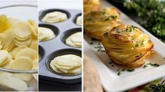 Famózne jedlo z obyčajných zemiakov? Pripravte ich vo forme na muffiny! Gordon Ramsey, Veggie Recipes, Mashed Potatoes, Side Dishes, Food And Drink, Easy Meals, Veggies, Gluten Free, Vegetarian