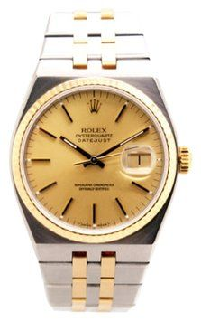 Rolex 17013 Datejust Two-Tone 18K Gold Bezel Stainless Steel Mens Quartz Watch. Get the lowest price on Rolex 17013 Datejust Two-Tone 18K Gold Bezel Stainless Steel Mens Quartz Watch and other fabulous designer clothing and accessories! Shop Tradesy now