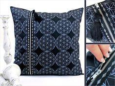 Double Zipper Pillow