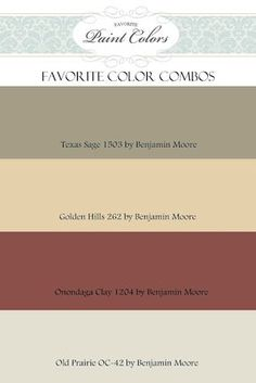 paint color combos, and pictures to see what they look like in a room- these would look fabulous in the kitchen & could carry into the living room, butlers pantry & dining room too!!