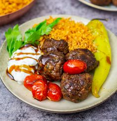 Kebabbollar - ZEINAS KITCHEN Lunch, Beef, Ethnic Recipes, Food, Kitchen, Meat, Cooking, Lunches, Meals