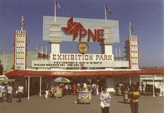 Old PNE Photos 1927 to 1980 (Pacific National Exhibition) - Forum Vancouver Vancouver Photos, Vancouver Bc Canada, Vancouver British Columbia, Old Pictures, Old Photos, Vintage Photos, West Coast Canada, Summer Memories
