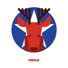 Colorful World Cup Sweepstake Postcards, Feature National Animals - DesignTAXI.com