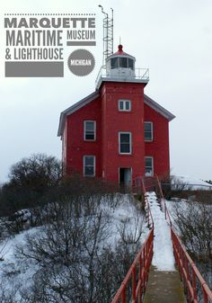 Visiting the Marquette Maritime Museum & Lighthouse on Lake Superior in Upper Peninsula of Michigan