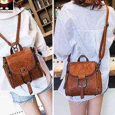 How nice Elegant Multi-function Leather Small Messenger Bag Shoulder Bag Mini Backpack ! I want to get it ASAP! Source by vanebechara Bags outfit Messenger Bags For School, Small Messenger Bag, Messenger Backpack, Shoulder Bags For School, Small Shoulder Bag, Shoulder Backpack, Mini Backpack, Mini Bag, Lace Backpack