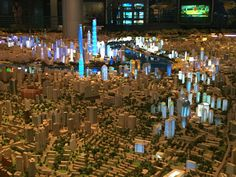 Urban planning museum Shanghai