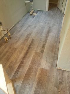 beautiful ceramic tile that looks like wood! emblem (color: gray