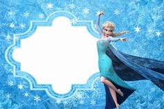 Frozen: Free Printable Cards or Party Invitations. Disney Frozen Party, Frozen Birthday Party, Elsa Frozen, Olaf Party, Frozen Birthday Invitations, Frozen Princess, 4th Birthday Parties, Party Invitations, Frozen Free