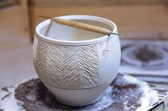 Pottery Carving Ideas Inspired By Architecture - Ceramic Arts Network