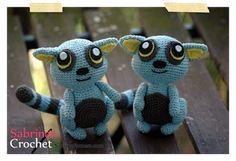 Amigurumi Lemur - FREE Crochet Pattern / Tutorial