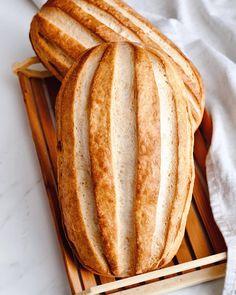 Normandský chlieb s kváskom Lievito madre - Kváskovanie s Lievito madre Brie, Food, Basket, Essen, Meals, Yemek, Eten