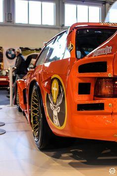BMW 320 Turbo E21 au salon Auto e Moto d'Epoca de Padoue