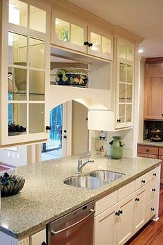 1000 images about see thru cabinets on pinterest for See kitchen designs