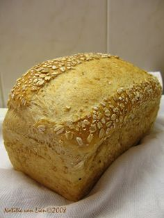 Notitie van Lien: Brood met haver