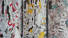 illustration for Redken L'Óreal by kaju (kalina juzwiak) E Design, Ink, Illustration, Prints, Pattern, Business, Street Art, Packaging, Fabrics