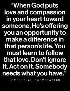 #loveandcompassion