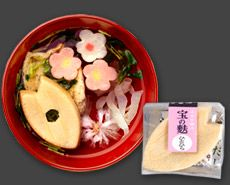 Japan,clear soup.It is also called 'sumashijiru' or 'otsuyu'.ひとひら -what the pretty soup?!?