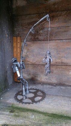 Fishing sparkplug character