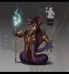 Fantasy Races, Fantasy Rpg, Dark Fantasy, Character Concept, Character Art, Concept Art, Dnd Characters, Fantasy Characters, Snake Art