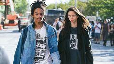 Models who slay together stay together...