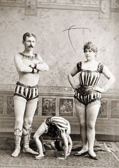 Incredible Victorian Circus Performers.