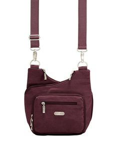 Look what I found on #zulily! Mulberry & Mango Criss Cross Crossbody Bagg by baggallini #zulilyfinds