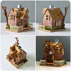 Der kreative Wahnsinn: Cottage Häuschen