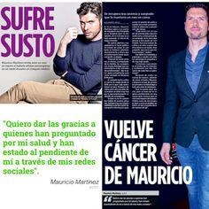 Armario de Noticias: El actor Mauricio Martínez revela que le ha vuelto...