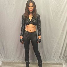 Leslie-Ann Brandt....aka: Maze from Lucifer on FOX