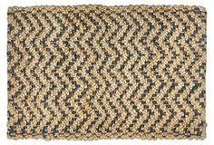 Herringbone Jute Rug, Gray/Natural on OneKingsLane.com | 85.00 to 1,415.00 retail