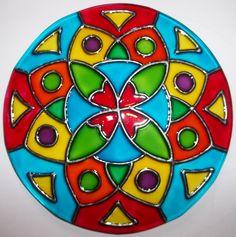 mandalas-en-vidrio-pintados-a-mano-artesanales-10734-MLU20034398248_012014-F.jpg (1190×1200)