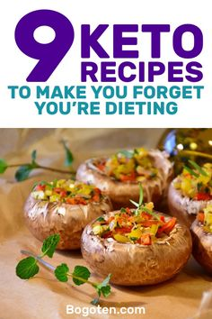 When you're on the ketogenic diet, you have a huge range of recipes that you can make. These recipes are so good you won't believe you're on a diet. Here are 9 recipes that will make you forget you're on a diet.