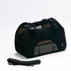 Bergan Comfort Carrier Soft-Sided Pet Carrier, Small, Black Bergan