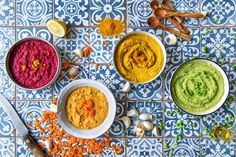 Learn what to eat with hummus (besides carrots) and how to blend special ingredients into your creamy dips for a stunning result.