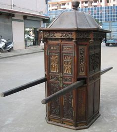 Chinese antique sedan chair