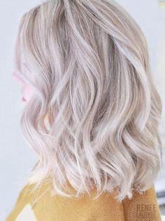 Best Hair Color Ideas 2017 / 2018 platinum blonde hair