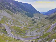 Carretera Transfagarasan, Carpatos