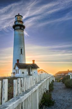 Pigeon Point Lighthouse by Sudheer G, via 500px.