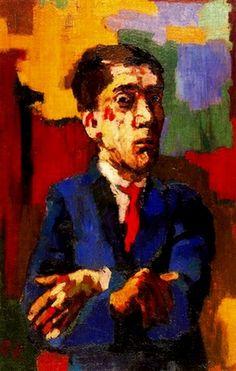 Oskar Kokoschka, Autoportrait