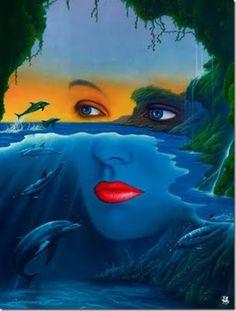 Jim Warren surrealismo