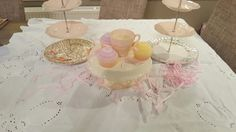 Vintage Cake Stands, Tea Sets Vintage, Table Decorations, Home Decor, Decoration Home, Room Decor, Home Interior Design, Dinner Table Decorations, Home Decoration