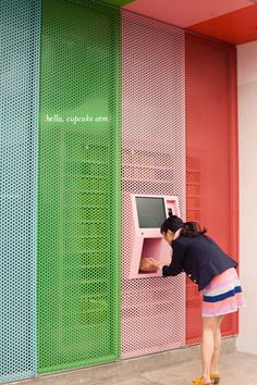 Cupcake ATM. This is very practical. I need to go here.