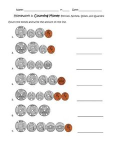 Printables Touch Math Money Worksheets money worksheets and free on pinterest touchpoint counting with touchpoints center activities second grade