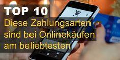 Diese Zahlungsarten sind bei deutschen Onlinekäufen am beliebtesten. Mit diesen Zahlungsarten bezahlen deutsche Kunden am liebsten Ihre Onlinekäufe.
