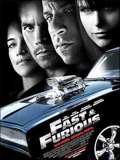 Fast and Furious 4 - Affiche