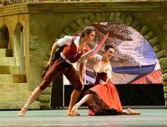 John Ross Ballet Gallery - Denis Rodkin and Olga Smirnova