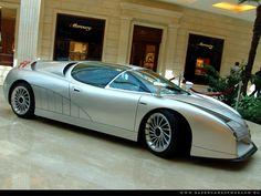 Alfa Romeo Scighera, 1997 (Italdesign-Giugiato concept)